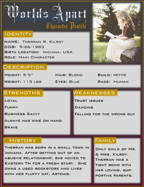 WA Character Profiles Therran