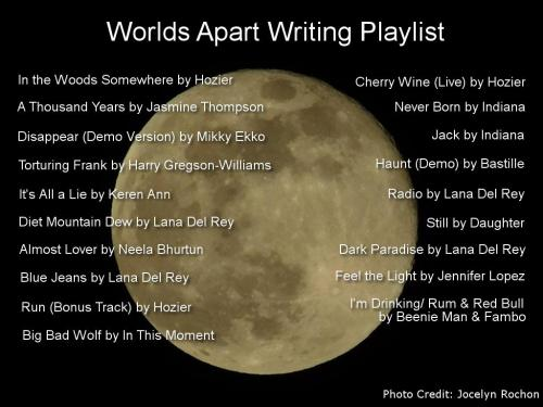 Worlds Apart Playlist