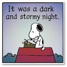 snoopy dark and stormy